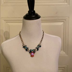 J Crew jeweled necklace